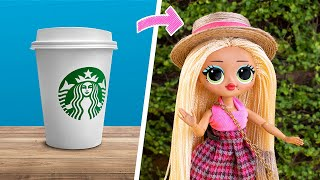 15 Cleveres Barbie- und LOL-Handwerk / Umweltfreundliche Ideen