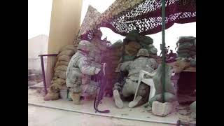 preview picture of video 'Fire fight in Baquba Iraq'