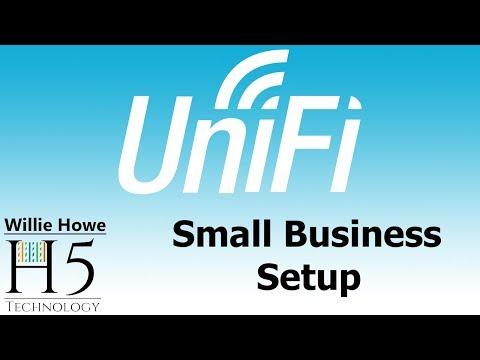 , title : 'UniFi Small Business Setup