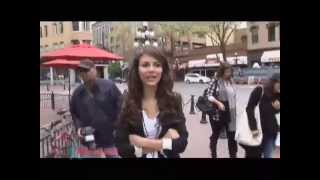 Виктория Джастис, Victorious Star, Victoria Justice, Gives a Tour of Vancouver!