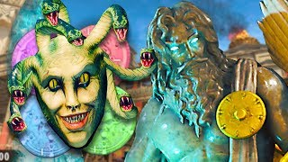 "BO4 ZOMBIES ""IX"" EASTER EGG GUIDE: MEDUSA COIN (Avenged Sevenfold)"
