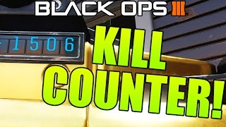 Black Ops 3 - Weapon Prestige 2 Unlocks - KILL COUNTER! (How To Unlock Kill Counter)