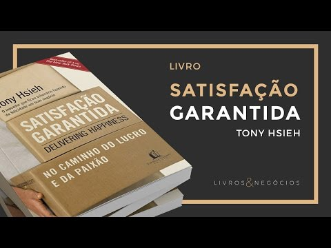 Livros & Nego?cios | Livro Satisfac?a?o Garantida - Tony Hsieh #44