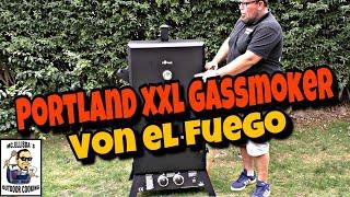 #186 - Portland XXL von EL FUEGO  // Unboxing und Aufbauanleitung