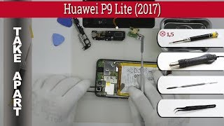 How to disassemble 📱 Huawei P8 Lite (2017) Take apart Tutorial