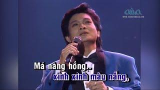 KARAOKE | Chuyện Giàn Thiên Lý | Nhạc: Anh Bằng | Thơ: Yên Thao