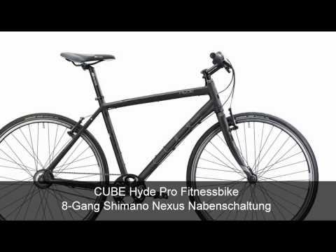 CUBE Hyde Pro Fitnessbike 8-Gang Shimano Nexus Nabenschaltung