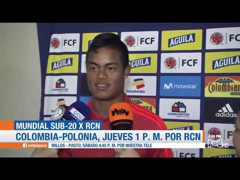 Colombia se prepara para su debut en la Copa Mundial Sub-20 de la FIFA Polonia 2019