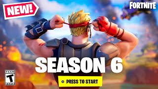 *NEW* Fortnite SEASON 6 is EPIC - TRAILER, SKINS + MORE! (Zero Crisis)