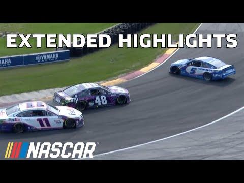 NASCAR カップシリーズレース at ロードアメリカ(ロード・アメリカ) 決勝レースのハイライト動画