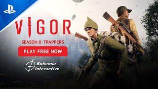 PlayStation Vigor – Season 8: Trappers Trailer   PS5, PS4 anuncio