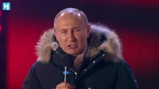 Выступление Путина на митинге в Москве 18 марта