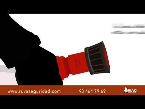 Como utilizar una Boca de Incendios (BIES) o Manguera de Incendios