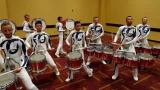Bluecoats 2016 Drumline - Finals Lot