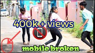 Random girl breaking the mobile | tamil prank | nagai 360*