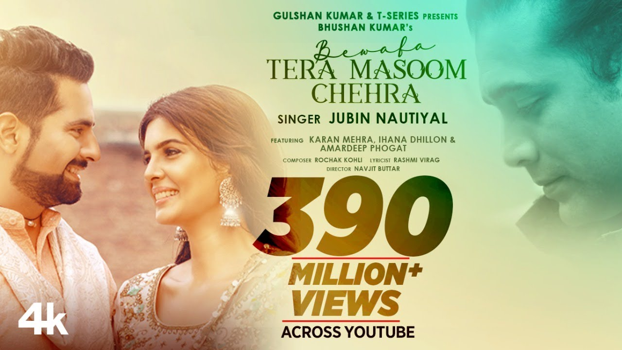 Bewafa Tera Masoom Chehra Lyrics In English