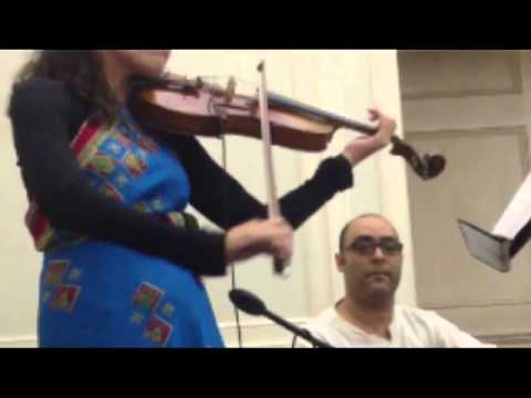 Puriya Dhanashree Fusion by Carla Cao Live at the NWSA Composer's Concert