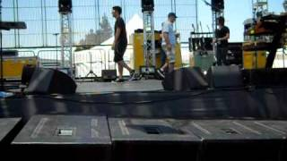 DEVO Hollywood Park Don't Shoot pre-soundcheck 07/01/ 2010