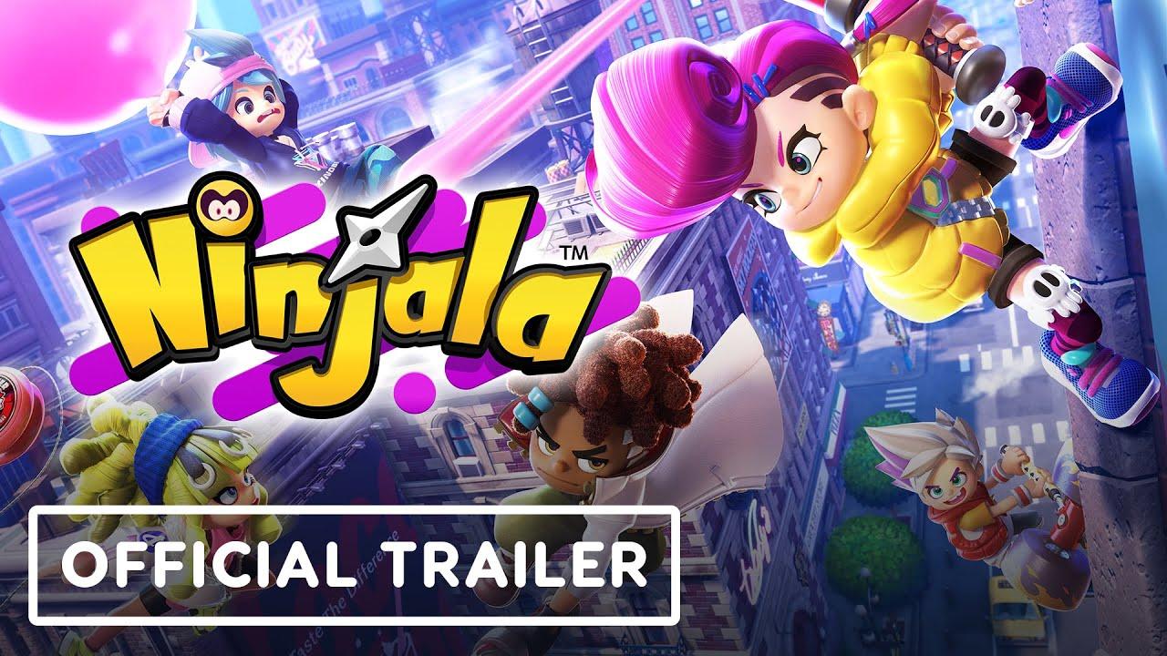 Трейлер игры Ninjala
