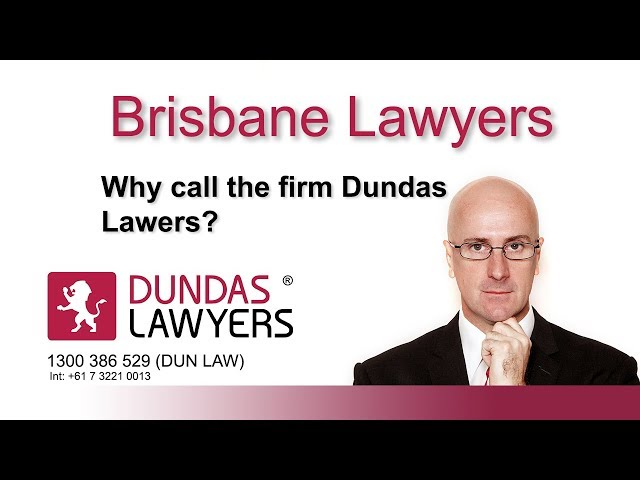 Why call the firm Dundas Lawyers