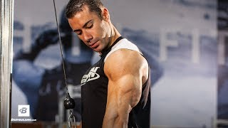 Arms by Alex Carneiro   Strong Biceps & Triceps Workout by Bodybuilding.com