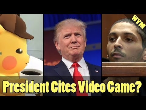 Detective Pikachu Releasing, President References Video Game Accidentally, COD Swatter Charged