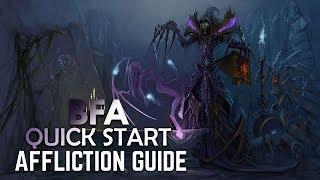 BFA - Affliction Warlock | Full DPS Guide 8 0 [Basics PvE