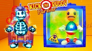 ANTISTRESS AGAINST EVERYTHING! Destroy in any way-Kick the Buddy Forever