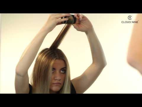 Anwendungsvideo C9 Cloud Nine - TheO Heizwickler Geschenkset - Soft Grip Wickler mit Induktion