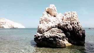 A day visit to Aphrodite rock Cyprus