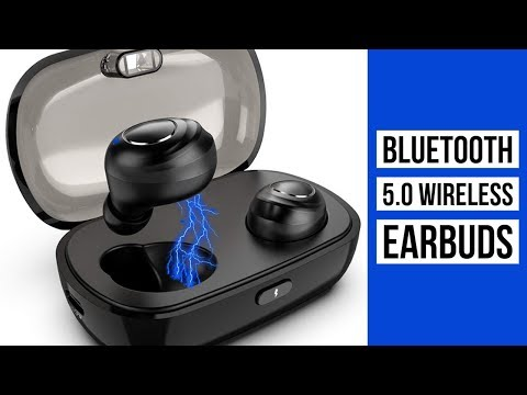 Bluetooth 5.0 Wireless Earbuds |  Sports Headset with Charging Case | Built-in Mic IPX5