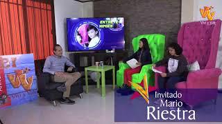 Vivi & Vale entrevistan a Mario Riestra