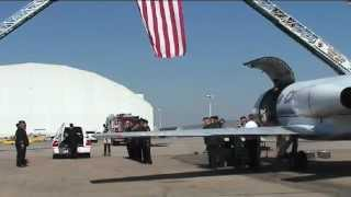 US Fallen Homecoming - SSGT Shawn H. McNabb