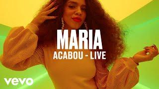 "MARIA   ""Acabou"" (Live)   Vevo DSCVR"