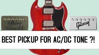 Bare Knuckle Riff Raff vs Gibson 57 Classic (AC/DC RIFFS)