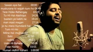 Arjit singh 2015- 2016 juke box   Best of arijit singh   just listen the music pal