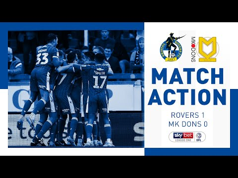 Match Action: Bristol Rovers 1-0 MK Dons