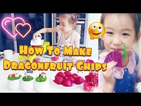 How to Make Homemade Dragon Fruit Chips