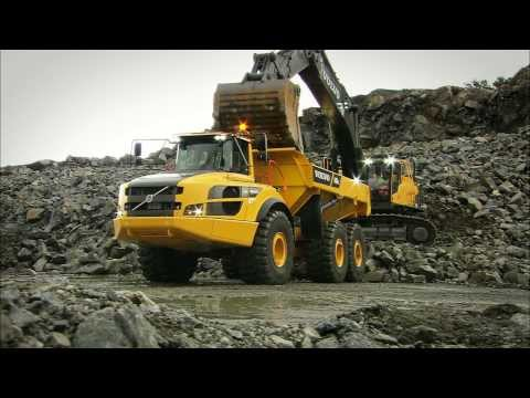Volvo underground dump truck A25G