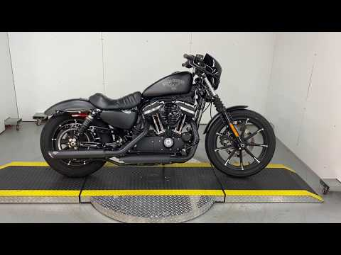 Preowned 2017 Harley Davidson Iron 883 For Sale XL883N