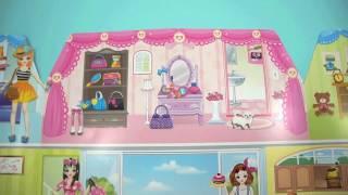 sticker doll house