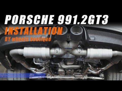 The iPE Exhaust for Porsche 991.2 GT3