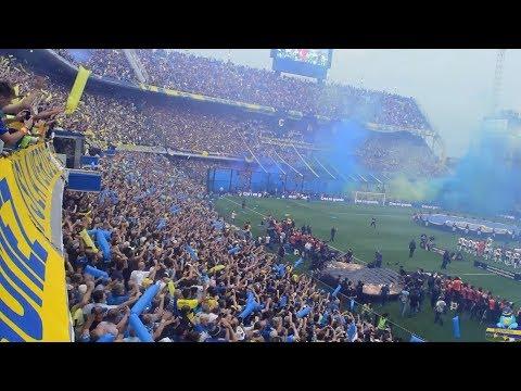 [DESDE LA TRIBUNA] Boca 2 River 2 - Super Final de la Libertadores 2018 (Ida)