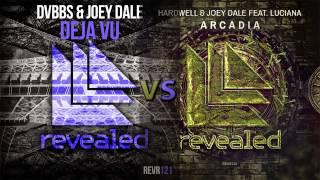 Hardwell, DVBBS & Joey Dale (ft.Luciana) - Arcadia VS  Deja Vu(NoiseBreak Mashup)
