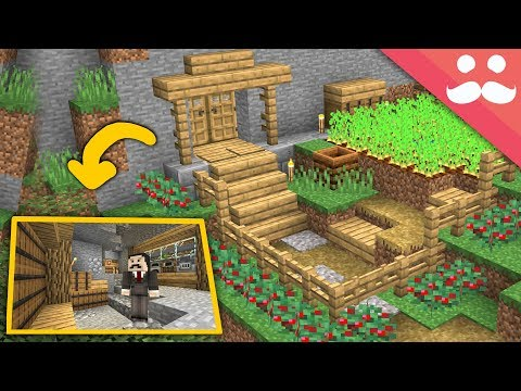 How to make a Minecraft 1.14 Starter Base