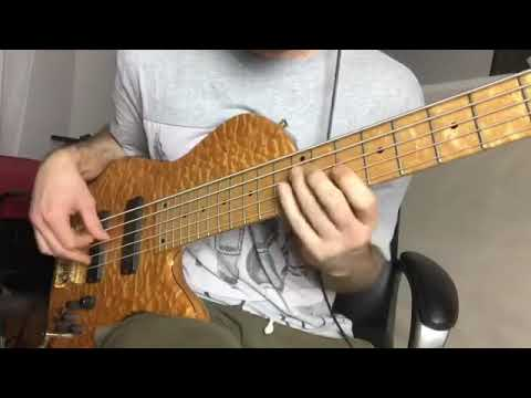 fast Victor Wooten lines
