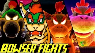 Evolution of Bowser Battles in Yoshi Games (1993-2017)
