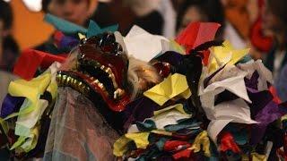 小宮神社の獅子舞 Lion Dance In Komiya Shrine あきる野市無形民俗文化財