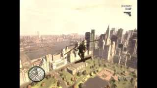 preview picture of video 'GTA IV PC Gameplay Liberty City Landscape'