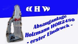 Späneabsaugung Holzmann ABS2480 - taugt die was?